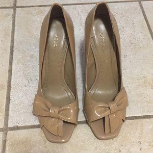 Nude BCBg heels